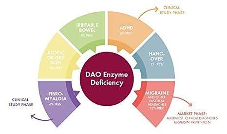 Migrasin sin cafeína 60 comprimidos - Alimento para el tratamiento dietético de la Migraña causada por el Déficit de DAO: Amazon.es: Salud y cuidado ...