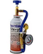 FrostyCool 12a·yf Replacement Refrigerant 8oz Can with CantapHose