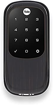 Yale Z-Wave Real Living Key Free Touchscreen Deadbolt