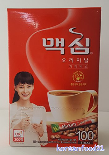 Maxim Original Coffee 100sticks