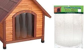 Ware Manufacturing Premium Plus Vinyl Dog or Pet Door - Extra Large by Ware Manufacturing