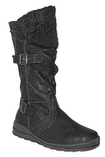 Art 653 Winterstiefel Damenstiefel Boots Stiefel Winterschuhe Schuhe Neu Damen