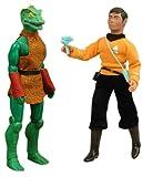 gorn figure - Star Trek: Original Series Mego 'Cloth Retro' Sulu & Gorn Action Figures Set of 2