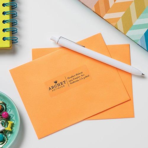 "Avery Glossy Crystal Address & Inkjet Printers, 1"" x"