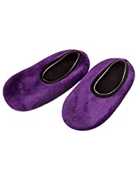 BUYEONLINE Womens Slipper Cozy Comfortable Antiskid Mid Calf Ankle Socks All Sizes