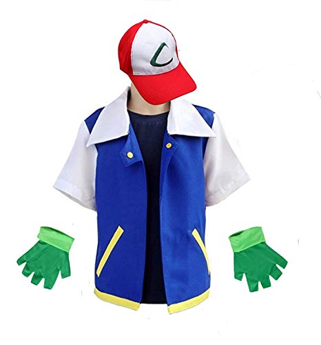 Animal Costume Hoodie Cosplay Jacket Gloves Hat Sets for Trainer -