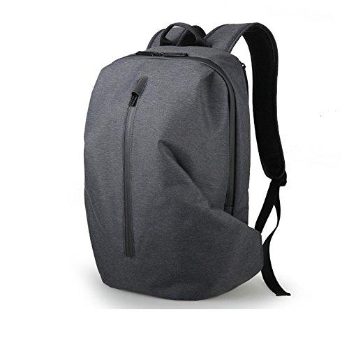 Individuelle Freizeit Männer Rucksack Computer Reisetasche Student Geldeintreiber Sports Fashion Trend,Deep Blue die dunkelheit