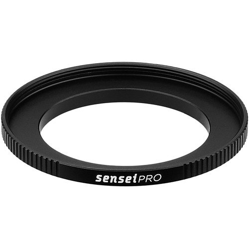 Sensei PRO 40.5mm Lens to 52mm Filter Aluminum Step-Up Ring by Sensei