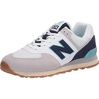 New Balance Men's 574 V2 Sneaker, Rain Cloud/Pigment, 5 M US