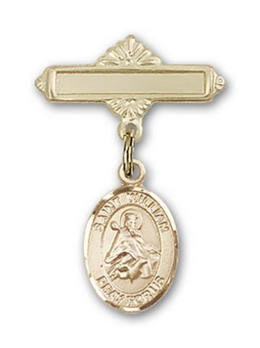 Icecarats Or Bijoux De Créateurs Rempli R. William De Charme Rochester Broche De Badge 1 X 5/8