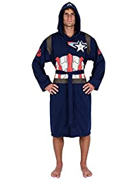 474d51dab2 Captain America Avengers Jersey Robe (One Size) Comics