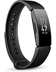 Fitbit Inspire Health and Fitness Tracker with Auto-Exercise Recognition, Sleep and Swim Tracking - Black