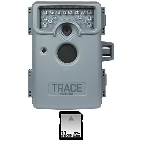 Moultrie Trace Premise Surveillance Camera with 32gb Memory Card