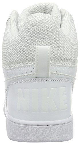 White NIKE Basketball Court White Men White Mid Shoes Borough White s Oq46xwvO