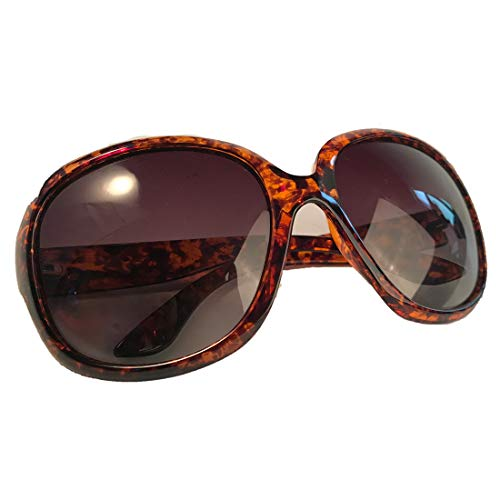 Polarized Sunglasses for Women, AkoaDa UV400 Lens Sunglasses for Female Ladies Fashionwear Pop Polarized Sun Eye Glass (Brown Marble Frame/Black Gradient Lenses) (Best Polarized Sunglasses 2019)