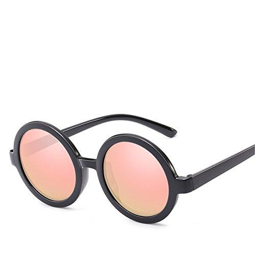XGLASSMAKER Espejo De Gafas Prince Sol A Color Marco De Transparente Hombre Redondo Película Sol Gafas r8rzpS