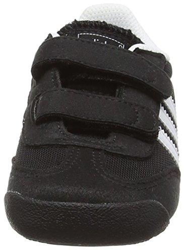 adidas Dragon CF I - Zapatillas para niños Negro / Blanco