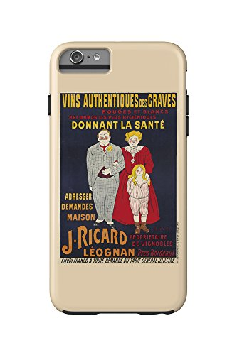 j-ricard-vintage-poster-artist-cappiello-france-c-1905-iphone-6-plus-cell-phone-case-cell-phone-case