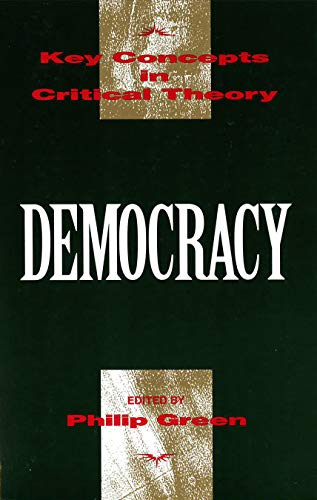 Democracy (Key Concepts in Critical Theory)