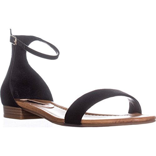INC International Concepts Womens Yafaa Open Toe Casual Ankle Strap Sandals Black 8mMuWXId