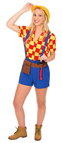 Ladies Belinda The Builder Bob Construction TV Halloween