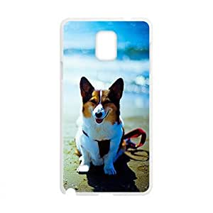 Cute Dog On Beach Sea Phone For Iphone 6Plus 5.5Inch Case Cover