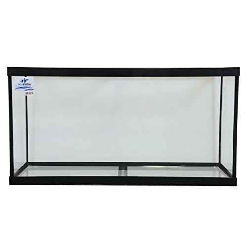 Seapora 52196 Rimless Cube Aquarium, 60 Gallon