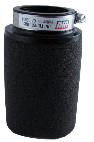 Uni Filter UP-4182 Black Universal Urethane Flange Straight Clamp-On Pod Filter