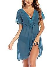 Avidlove Swimsuit Cover Ups for Women Chiffon Bikini Bathing Suit Kimono Swimsuit Coverups