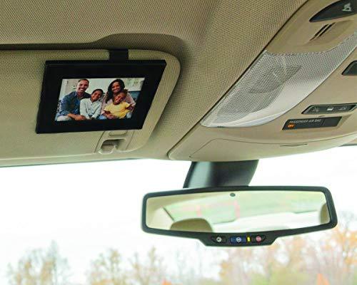 - VISOR FRAMES | Clips to Car Sun Visor | Fits Standard Wallet Size Photo (2.5