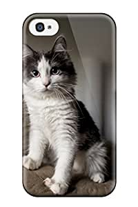 Akram Alzoubi's Shop Scratch-free Phone Case For Iphone 4/4s- Retail Packaging - Cat