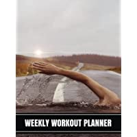 Weekly Workout Planner: Workout Diary Notebook with Calendar 2018-2019 Weekly Workout Planner, Workout Goal, Workout Journal Notebook Workbook Size 8.5x11 Inches Extra Large Made in USA