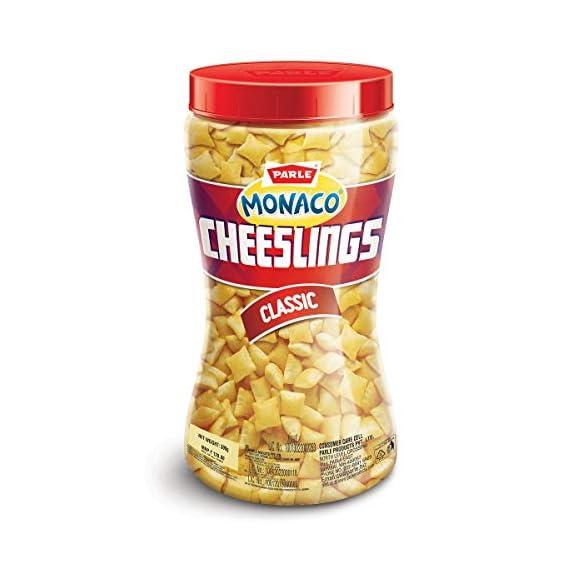 Parle Monaco Cheeslings, 300g