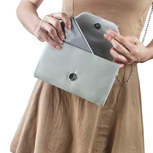 Chain Bags Clutch Bags Pearl Fashion Evening Handmade With Floral New Wedding 4xCIBvwq