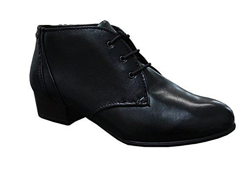 Tamaris1-1-25114-25-007 - botines de caño bajo Mujer Negro