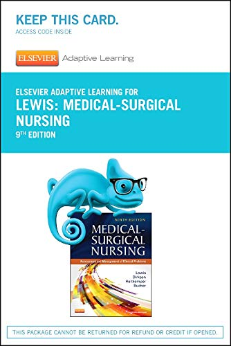 Elsevier Adaptive Learning for Medical-Surgical Nursing (Access Card)