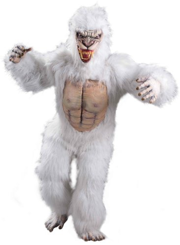 Forum Larger Than Life Snow Beast Costume, White, One Size ()