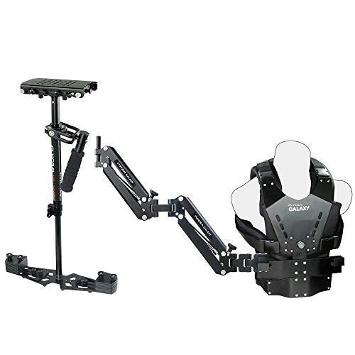 Flycam HD-3000 Stabilizer with Galaxy Dual Arm & Body Vest Steadycam System (GLXY-AV-HD-3) For Video DSLR Cameras | Free Accessories by FLYCAM