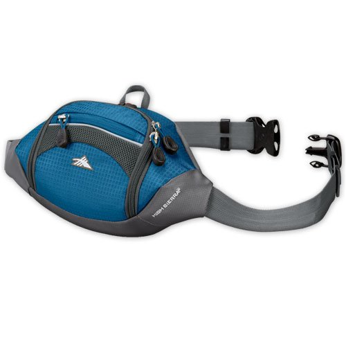 High Sierra Passport Lumbar Pack (Pacific, Tungsten), Outdoor Stuffs
