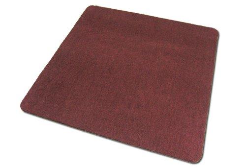 Deko-Matten-Shop Fußmatte Olefin, Schmutzfangmatte, Quadratisch, 120x120 cm, Weißrot, in 14 Größen und 5 Farben
