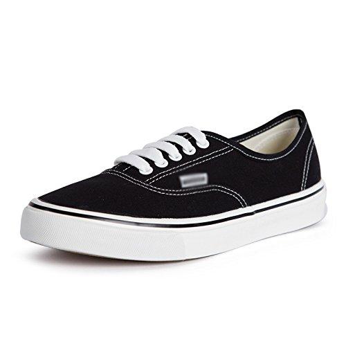 scarpe di per uomo Scarpe scarpe Nero bassa da XFF tela scarpe studente aiutare scarpe maschio casual scarpe primavera bianche singole piatte 5w78Xp