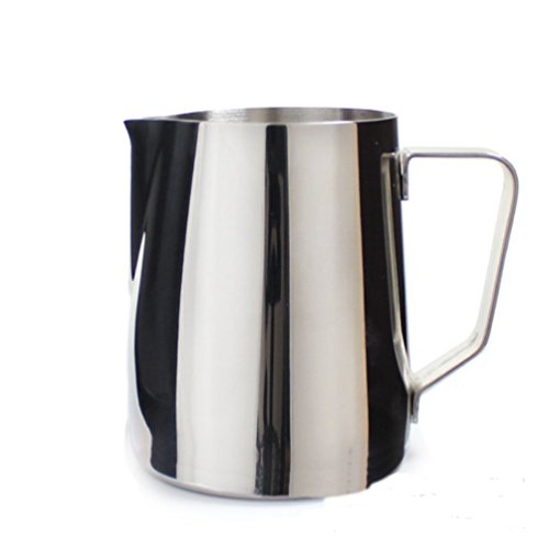 Stainless Steel Milk Frothing Jug Espresso Coffee Cup Pitcher Barista Craft Coffee Latte Milk Frothing Jug Pot Kitchen (150 ML / 5 oz.) ()