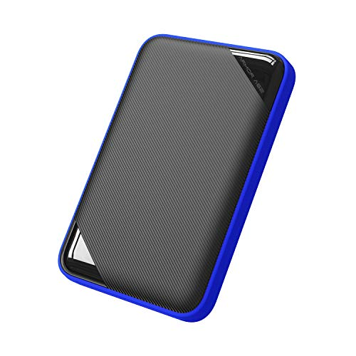 Silicon Power 1TB USB-C USB 3.0 Rugged Game Drive Portable External Hard Drive A62, Compatible with PS4 Xbox One PC and Mac