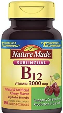 Nature Made 3000 mcg Vitamin B12, 250 ct.