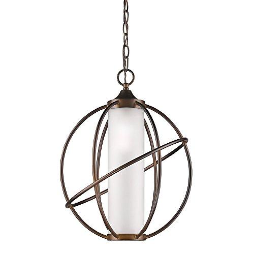 Acclaim Lighting IN11201ORB Loft Indoor 1-Light Pendant with Metal Cage, Oil Rubbed - Light Pendant 1 Loft