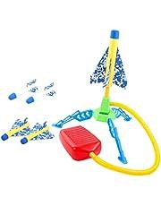 Generic Rocket Launcher Jump Light-up Buitenraket voor Buitenactiviteiten in De Sporttuin voor Kinderen - Enkel