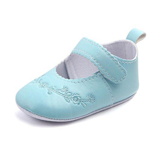 Clode® Neugeborenes Baby Mode Sneaker Mädchen Stitchwork Anti-Rutsch-Single-Schuhe  Sneaker