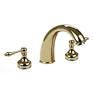 kitchen sink faucets dynasty hardware dyn 2702 pb tub filler faucet with 2702