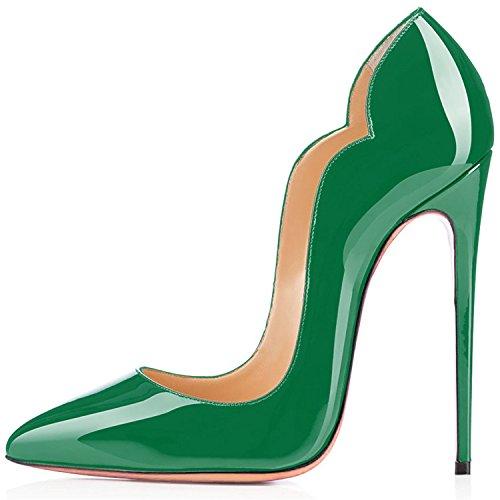 col Verde uBeauty Donna Tacco Scarpe da col Tacco Scarpe Scarpe Classiche c wfIqvfrApZ