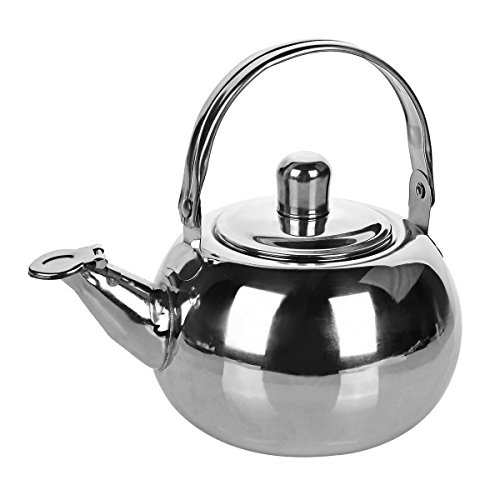 OLSUS Stainless Steel Tea Pot Kettle with Strainer Filter for Outdoor Camping by OLSUS